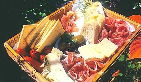 Feast Graze Basket Offerings